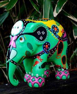 Elephant Parade - E-Phant Mini - Toyism Art Movement