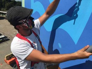 The Dot - Gihili Blue - Toyism Art Movement