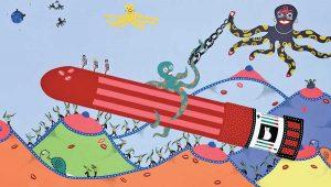 Silkscreen - Spaceship 2010 Silkscreen - Toyism. Art for Sale. Buy bestselling silkscreens online.