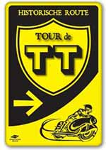 Tour de TT Sign - Dutch Moto GP - Toyism Art Movement
