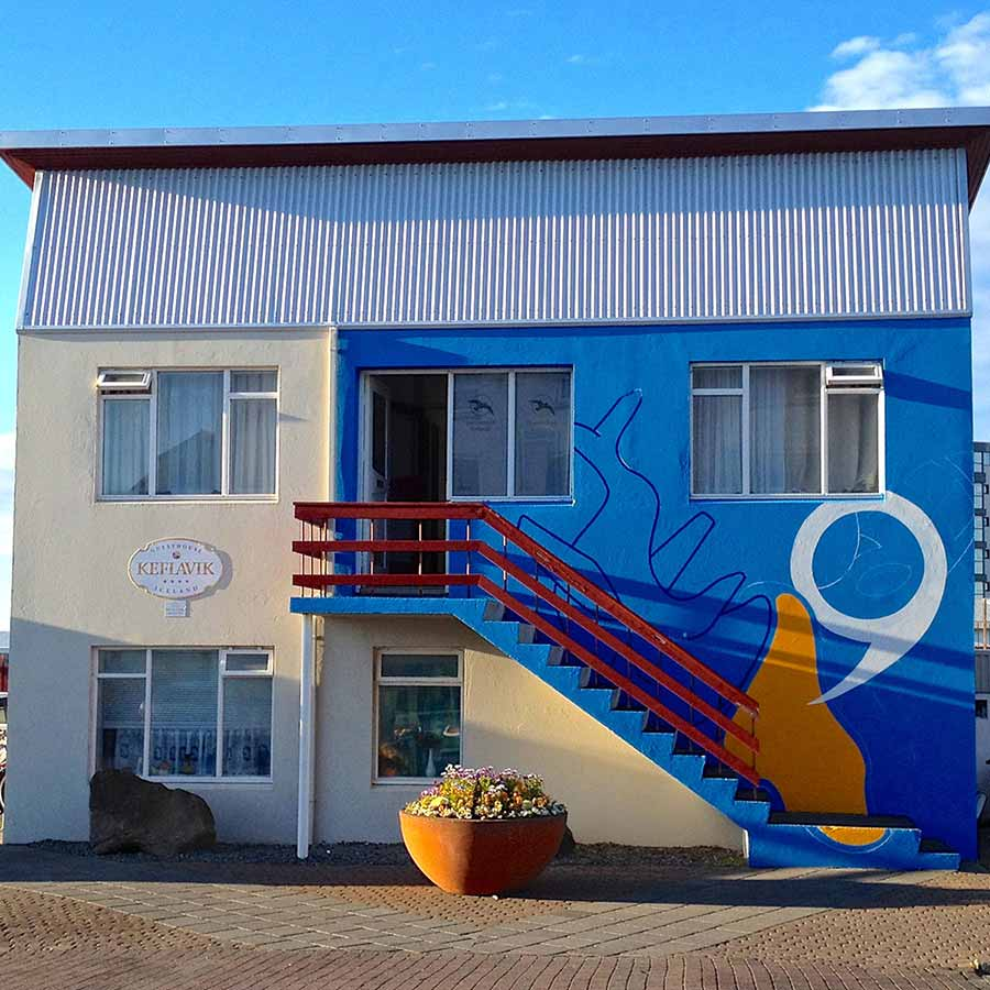 As The Whale Goes By - Facade Guesthouse Iceland - Toyism Art Movement