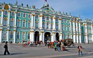 The Hermitage and the palaces Empire - Toyism Art Movement