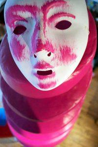 Towersnail - Pink Mask - Toyism Art Movement