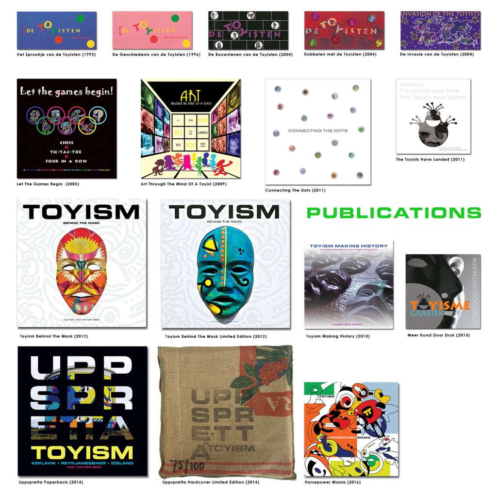 Toyism Publications 1992-2016 books portfolio - Toyism Art Movement