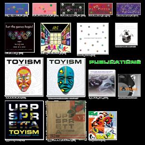 Toyism Publications 1992-2016 books portfolio - Toyism Art Movement