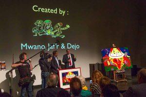Ambassador Goosen - Big Five - Stedelijk Museum - Toyism Art Movement