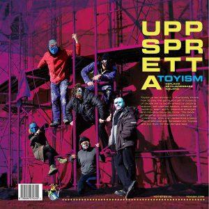 Uppspretta Limited Edition Hard Cover - Toyism Art Movement