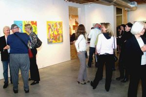 Toyism Exhibition Koelsch Gallery Houston opening B - Toyism Art Movement