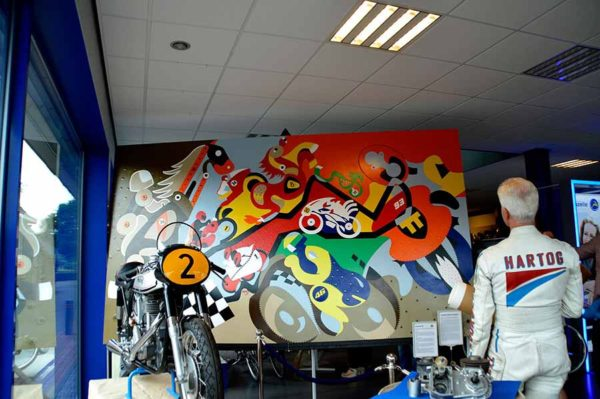 Horsepower Mania - Wil Hartog Horsepower - Toyism Art Movement