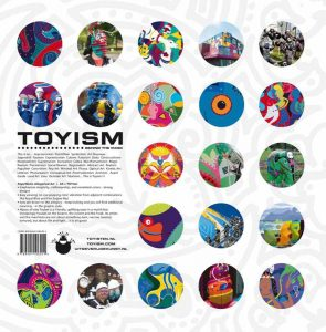 Toyism Behind the Mask Back - Toyism Art Movement