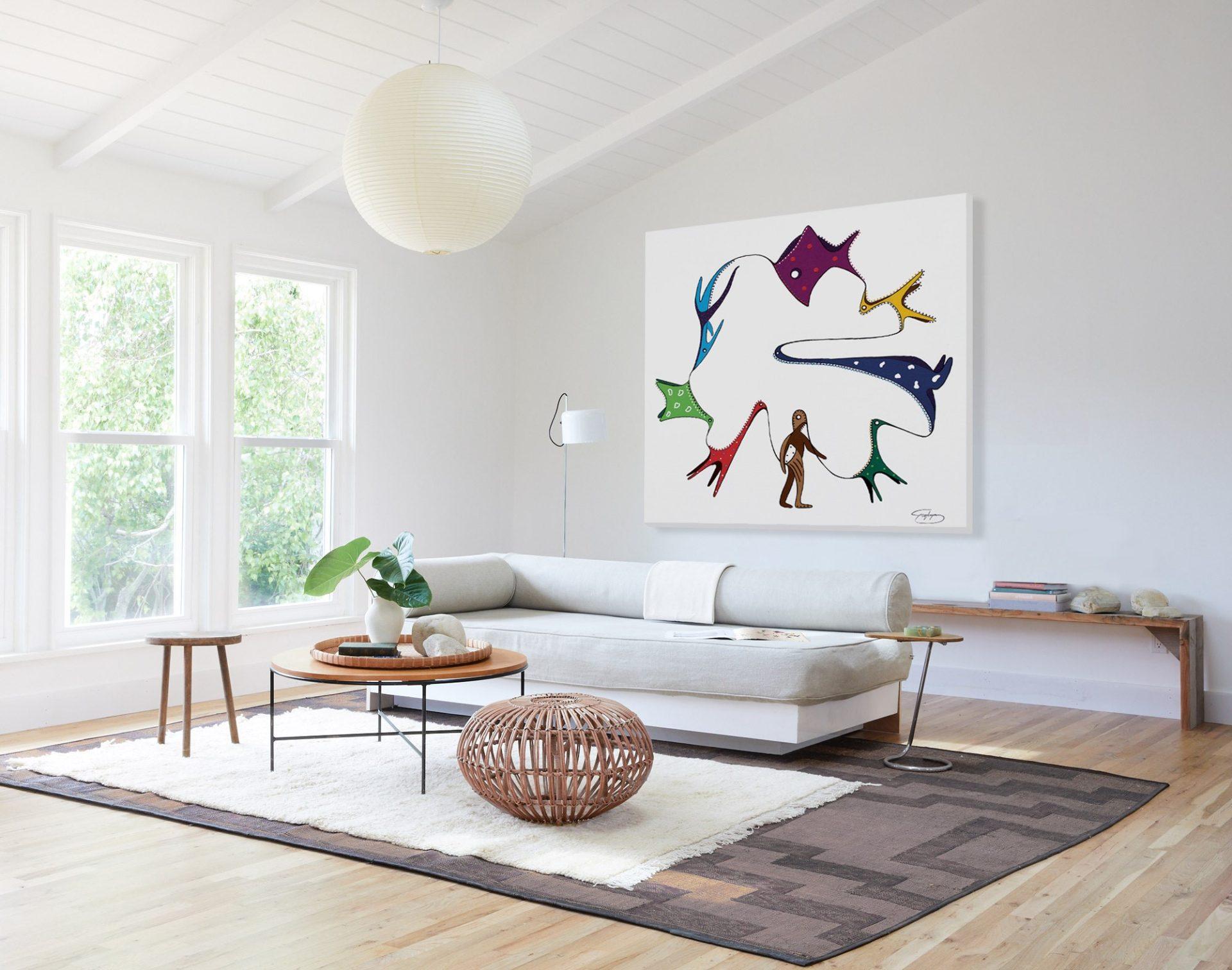 Toyism_Srylyn Painting Livingroom