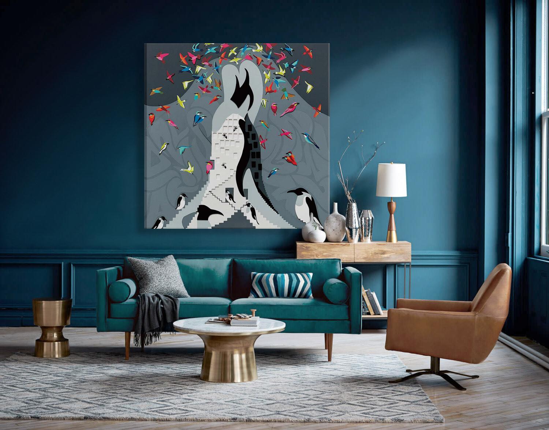 Toyism_Jaf'r Painting Livingroom