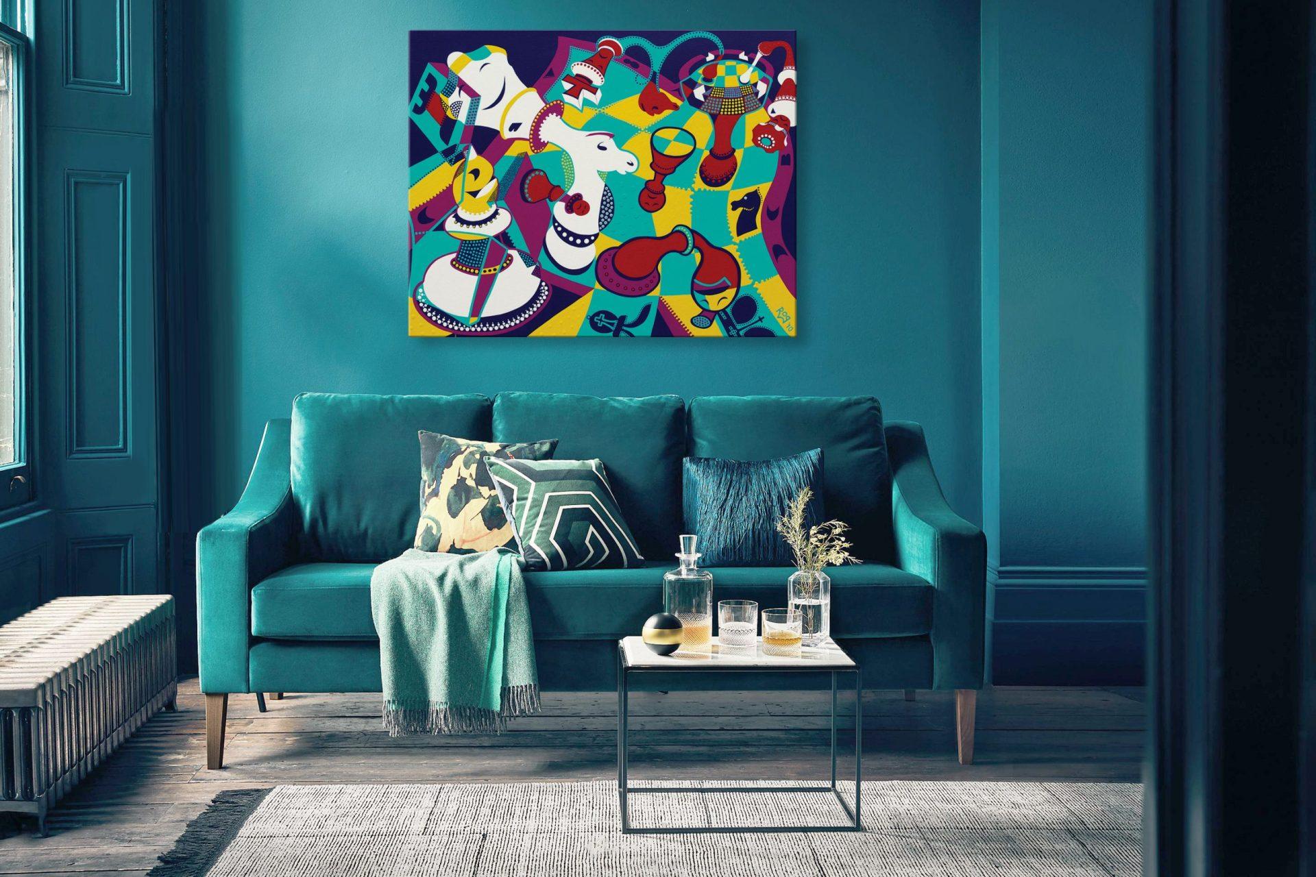 Toyism_Roq Painting Livingroom