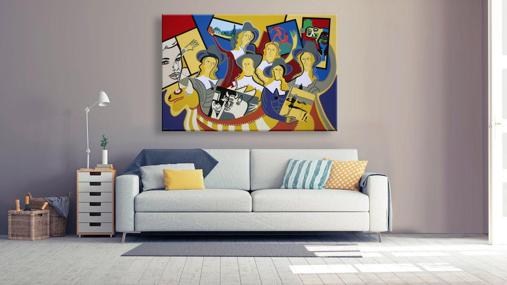 Toyism_Dejo Painting Livingroom