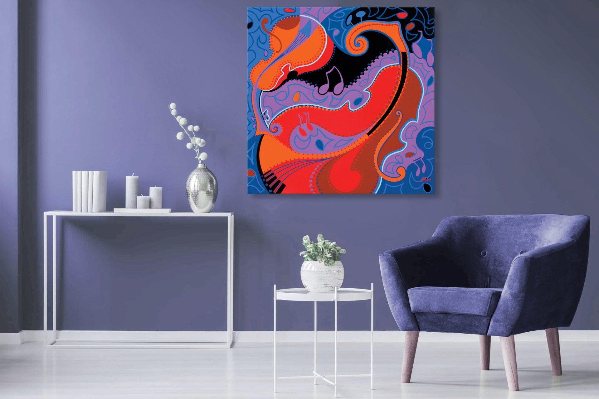 Toyism_Fihi Painting Livingroom
