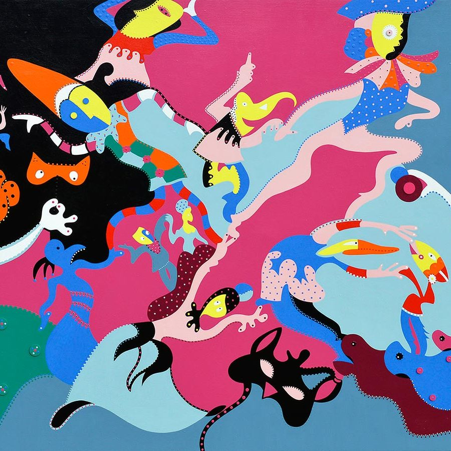 Grand Carnival | Painting | Toyism Art Movement