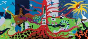 Silkscreen - Live Energy Silkscreen - Toyism. Art for sale. Buy bestselling silkscreens online.