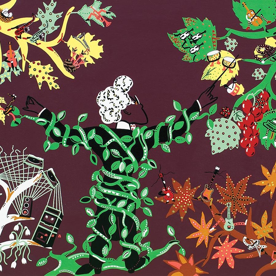Silkscreen - Four Seasons Vivaldi Silkscreen - Toyism. Art for sale. Buy bestselling silkscreens online.