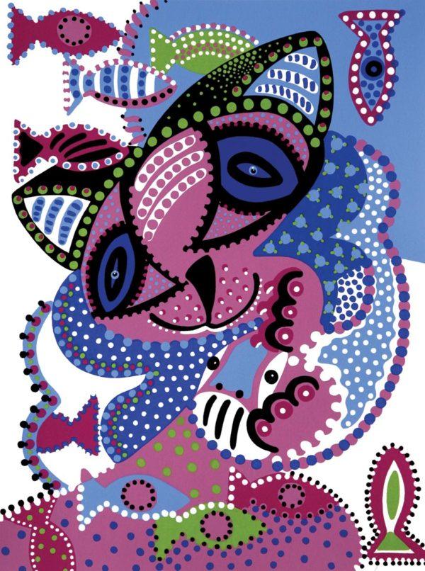 Silkscreen - Friends Silkscreen - Toyism. Art for sale. Buy bestselling silkscreens online.