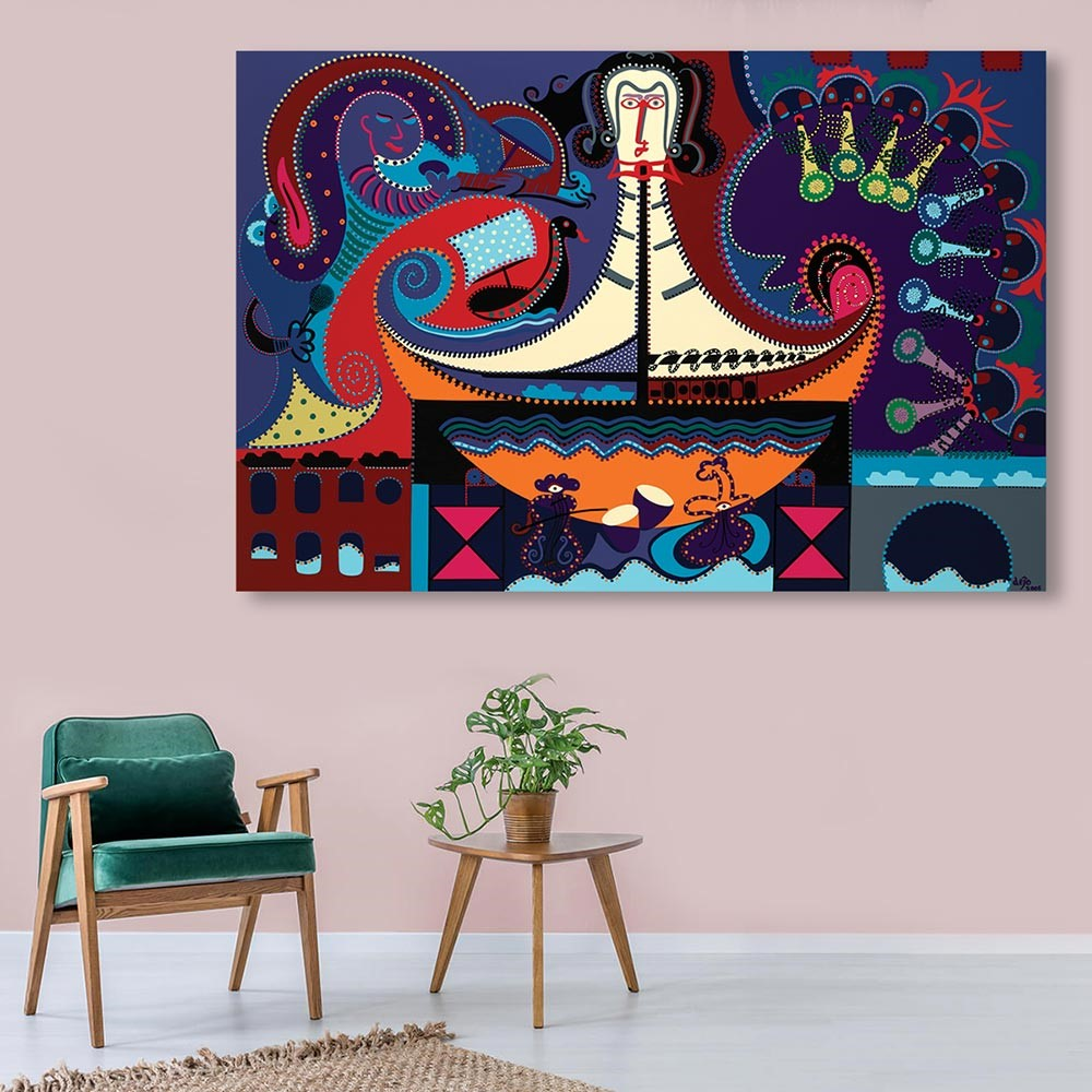 Toyism_Art-Dejo-The-Ships-Conductor_Livingroom
