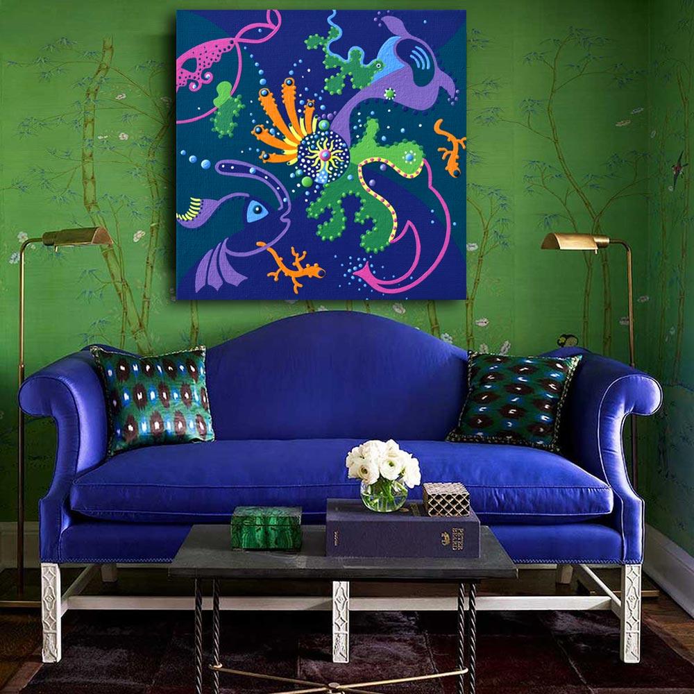 Toyism_Fihi_Painting_Hypnosis_Livingroom