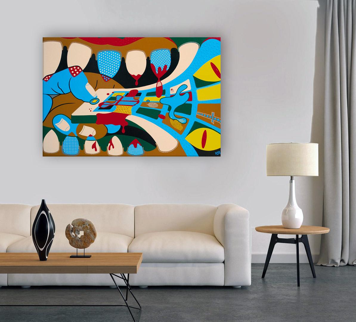 Toyism_Roq_Painting_Grip_Livingroom