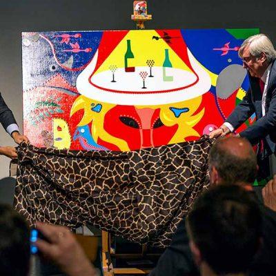 Stedelijk Museum Amsterdam opening by ambassador Goosen - Toyism Art Movement