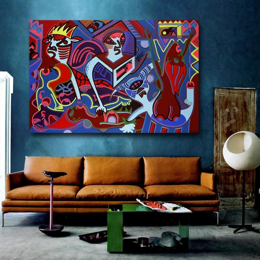 Toyism_Dejo-The-Freakshow_Livingroom