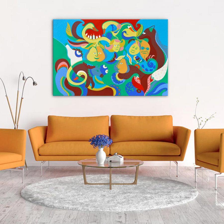 Toyism_Dejo_Painting_Fruits-of-Joy_Livingroom